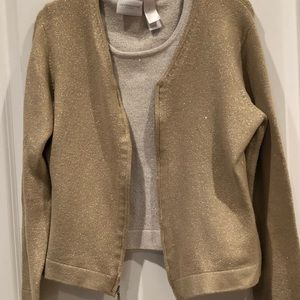 Vintage Liz Claiborne 2-pc Sweater Set Size Small